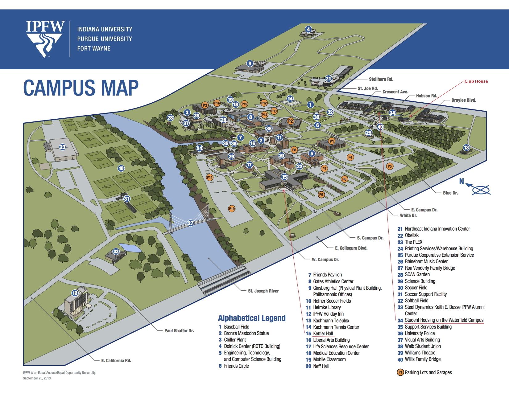 Midwestern Campus Map.Midwestern Workshop On Asymptotic Analysis 2014
